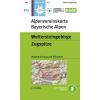 BY08: Wettersteingebirge turistatérkép - Alpenvereinskarte