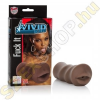 California Exotic Novelties Vivid Raw Fuck It maszturbátor - barna -  száj
