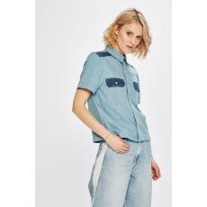 Calvin Klein Jeans - Ing Boxy Shirt - kék - 1315599-kék
