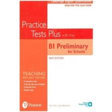 Cambridge English Qualifications: B1 Preliminary for Schools Practice Tests Plus Student's Book with key – Jacky Newbrook idegen nyelvű könyv