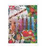 Canenco Tetováló zseléstoll készlet, csillámos, , 6 különböző szín