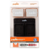 Canon LP-E8 1120mAh akkumulátor és USB Dual Charger Kit Jupiotól