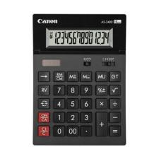 Canon Számológép asztali CANON AS-2400 környezetbarát 14 digit számológép