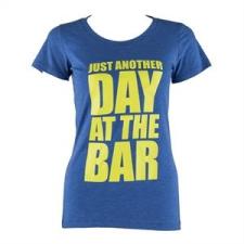 Capital Sports női edző póló, L méret, kék női póló
