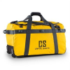 Capital Sports Travel L, utazótáska, hátizsák, 90 l, kocsi, vízlepergető, sárga