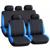 CARGUARD Autós üléshuzat szett - kék - piros - szürke - 9 db-os
