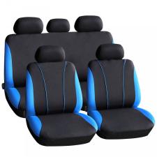 CARGUARD Autós üléshuzat szett - kék - piros - szürke - 9 db-os ülésbetét, üléshuzat