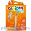 Carioca Carioca 3 az 1-ben bébi zsírkréta 6db-os készlet