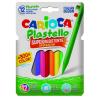 Carioca Zsírkréta Plastic -42711- 12db-os CARIOCA