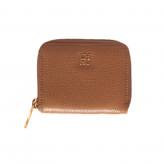 Carolina Herrera Zipped Brown Wallet