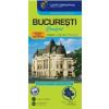 Cartographia Bukarest Comfort térkép (laminált)