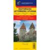Cartographia Észtország, Lettország, Litvánia autótérkép