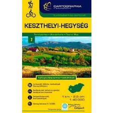 Cartographia Keszthelyi hegység turistatérkép térkép