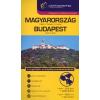 Cartographia Kft. MAGYARORSZÁG+BUDAPEST KOMBIATLASZ 1:250000,1:20000