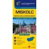 Cartographia Miskolc várostérkép (+Borsod-Abaúj-Zemplén megye tkp.)