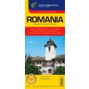 Cartographia Románia autótérkép