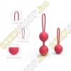 Cautox International Cherry - 2 részes gésagolyó szett - piros
