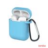 CELLECT Airpods szilikon tok, Kék, 1.5mm