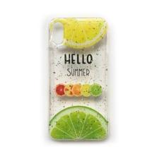 CELLECT Designe hátlap, iPhone X, Gyümölcs tok és táska