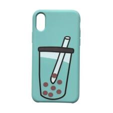 CELLECT Designe hátlap, iPhone X, Zöld tok és táska