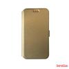 CELLECT Huawei P9 Flip oldalra nyiló tok, Arany
