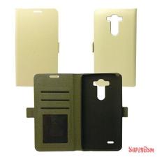 CELLECT LG G4c Flip oldalra nyiló tok,Fehér tok és táska