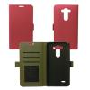 CELLECT LG K10 flip oldalra nyíló tok, pink