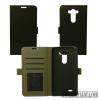 CELLECT LG K4/E1 flip oldalra nyiló tok, Fekete