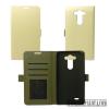 CELLECT LG K7 flip oldalra nyíló tok, fehér