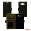 CELLECT Samsung Galaxy S7 flip oldalra nyiló tok, Fekete