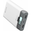 CELLULARLINE Freepower 10000 mAh powerbank - 2 kimenet - fehér