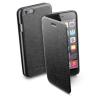 CELLULARLINE Tok, BOOK,  mobiltelefonhoz, könyvszerűen nyitható, fekete, iPhone 6