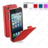 CELLULARLINE Tok, FLAP, mobiltelefonhoz, eco-bor, nyitható, iPhone 5/5S, lila