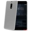 CELLY Nokia 6 szilikon hátlap,Átlátszó