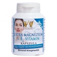 Celsus Premium Extra Magnézium + B6-vitamin Q1+Q10 koenzimmel  - 30 db kapszula vitamin