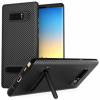 Centopi Samsung Galaxy Note 8 Ultra Thin Slim Carbon Tpu Case With Stand - Black