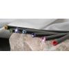 . Ceruza, zafírkék kristállyal 17,5cm, Crystals from SWAROVSKI®, fekete