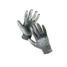 Cerva BUNTING Black nylon PU kesztyű - 6