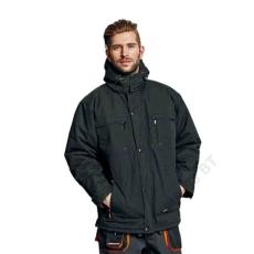 Cerva EMERTON téli kabát, fekete