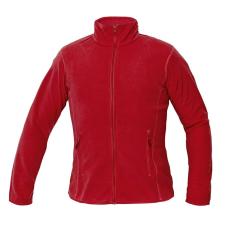 Cerva GOMTI női polár kabát piros XXL