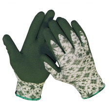 Cerva GUILLEMOT mártott kötött nylon kesztyű zöld - 8