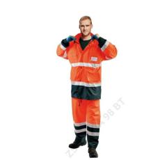 Cerva MALABAR meleg kabát HV narancs