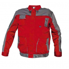Cerva MAX EVO kabát piros/szürke 64