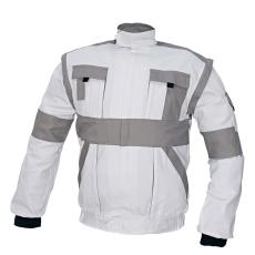 Cerva MAX kabát fehér / szürke 62
