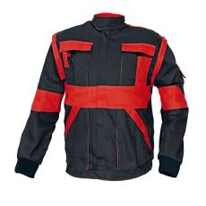 Cerva MAX kabát fekete / piros 62