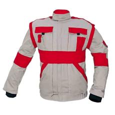 Cerva MAX kabát szürke / piros 66