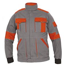 Cerva MAX LADY női kabát szürke/narancs 44