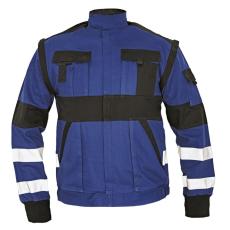 Cerva MAX REFLEX kabát kék/fekete 60
