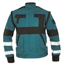 Cerva MAX REFLEX kabát zöld/fekete 58