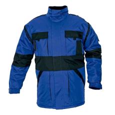 Cerva MAX téli kabát párnázott kék/fekete XXXL
